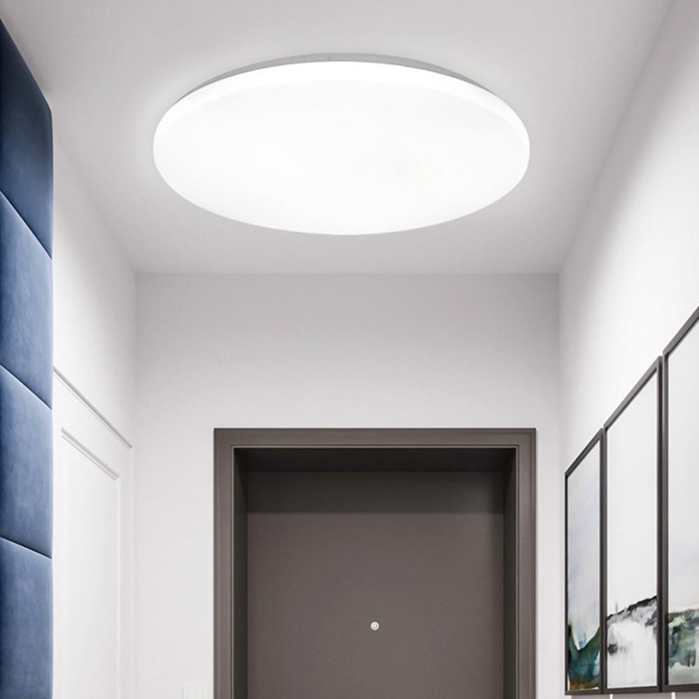 Ultra Thin LED Ceiling Light round Lights Lighting Fixture Waterproof Hallway Aisle Home Balcony Modern Lamp Living Room Bedroom