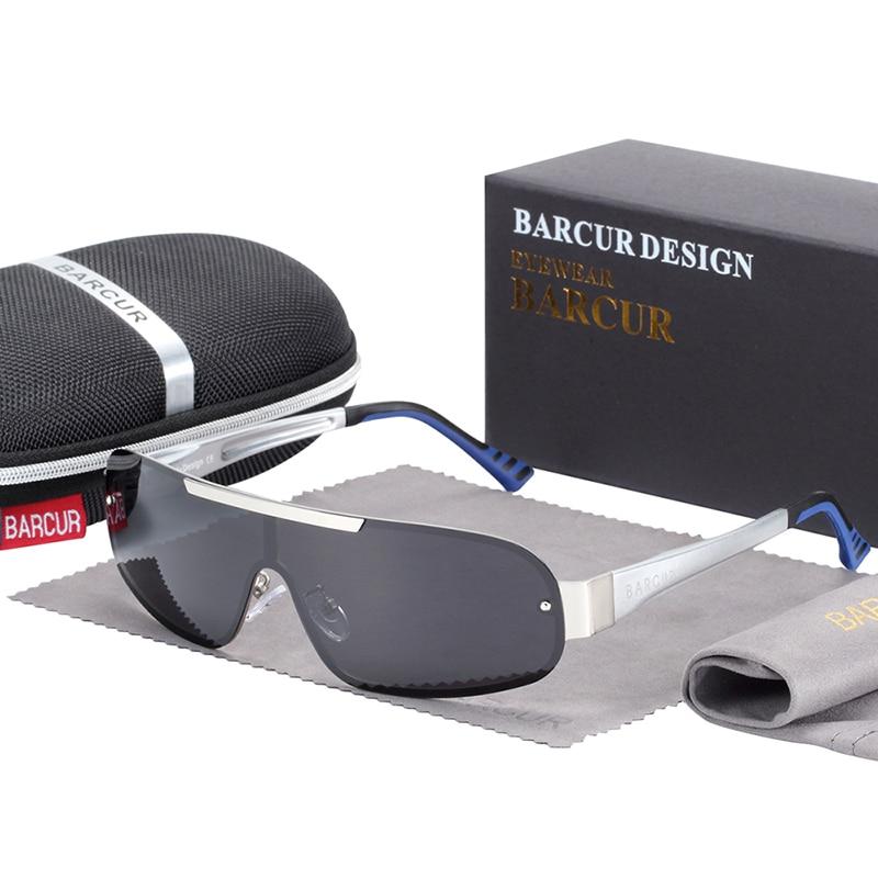 Polarized Pilot Sunglasses Silver Grey