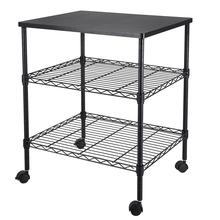 【US Warehouse】 22 05 x 18 11 x 26 38inch 3-Shelf Printer Cart (Kitchen shelf cart) cheap