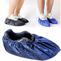 Популярная обувь для многоразового использования  непромокаемые сапоги унисекс  водонепроницаемые Нескользящие сапоги  тканевые сапоги д...