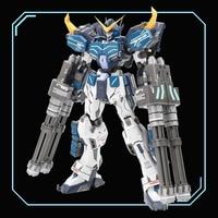 COMIC CLUB INSTOCK Super Nova XXXG 01S2 W Gundam Heavy Arms Custom Model Kit MG 1/100 Action Figure Assembly Toy Gife 18cm
