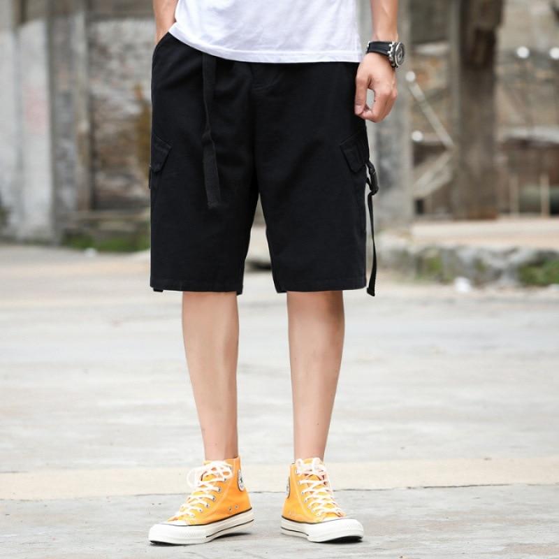 Workwear Shorts Men 2019 Summer Loose-Fit Chao Liu Ku