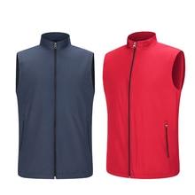 Facecozy Men Outdoor Waterproof Thermal Hiking Vest Male Cam