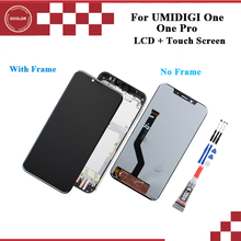 """ocolor For UMI One Pro LCD Display and Touch Screen With Frame 5.9"""" Phone Accessories For UMI Umidigi One With Tools"""