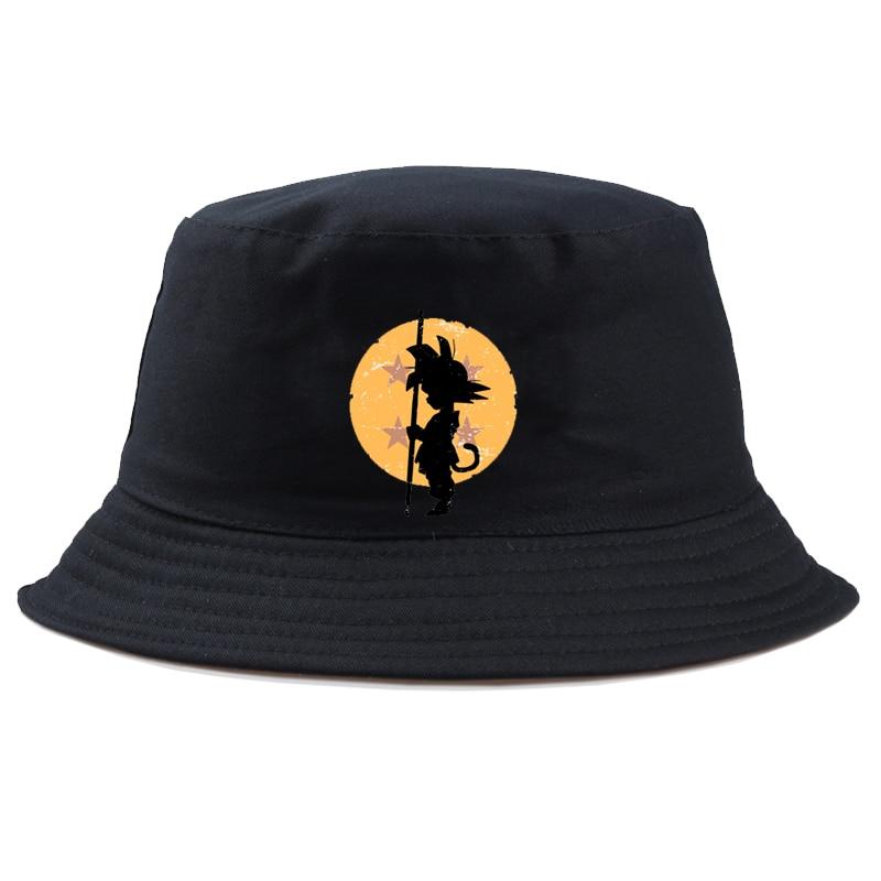 Unisex Bucket Hat dragon ball Hiking Climbing Hunting Fishing Outdoor Protection Caps Men's Women's Summer Sun Hat boy girl