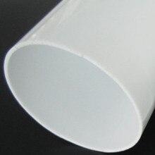 4 шт. акриловые белые трубы OD80x2x1000MM пластиковые PMMA круглые трубы домашнее украшение toallero de acero inoxiable светодиодный абажуры