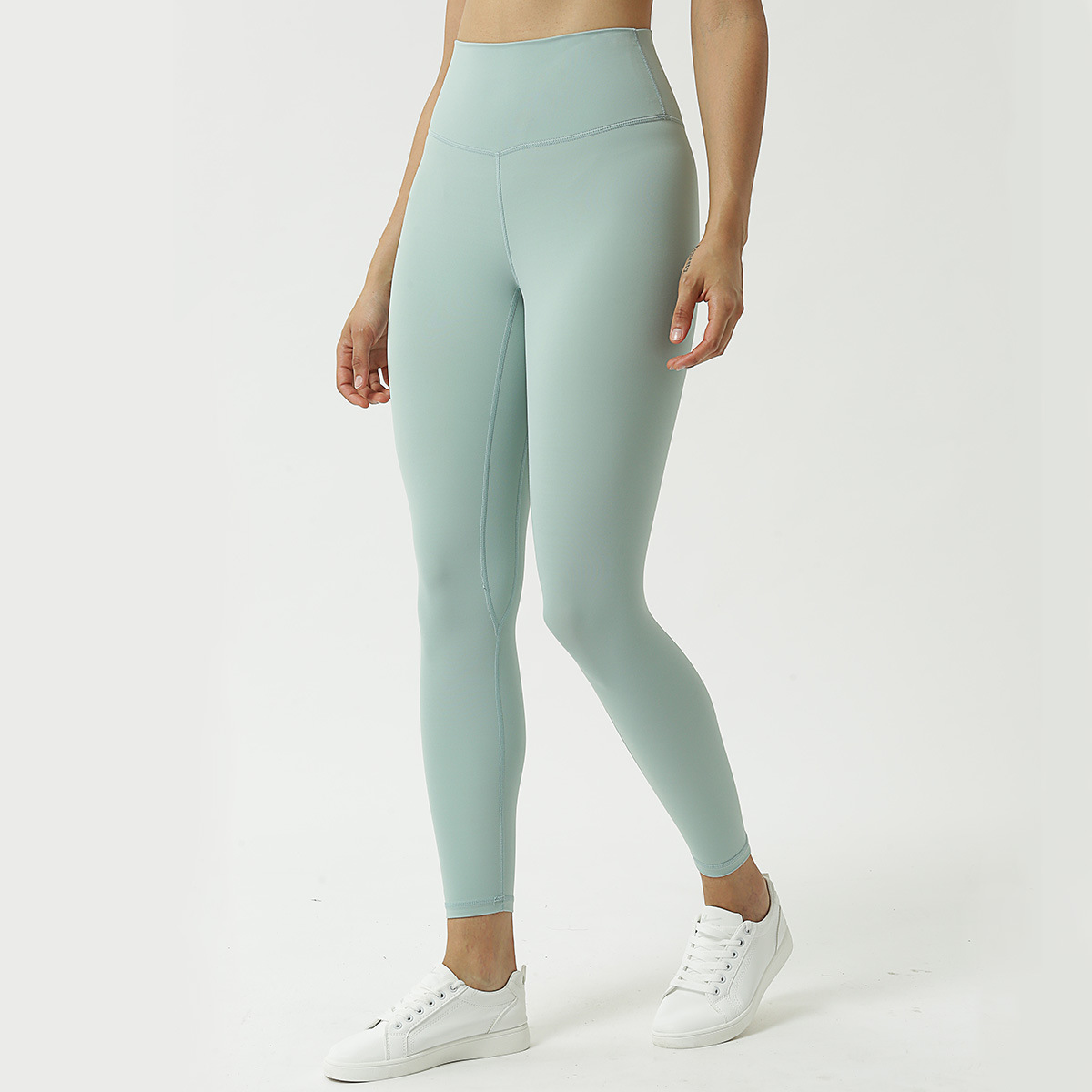 New Womens High Waist Leggings Women Booty-Lifting Tights Yoga Pants Gym Pants Training Running Ladies calzas deportivas mujer