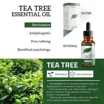 Aceite esencial puro de árbol para el cuidado de la piel, tratamiento...