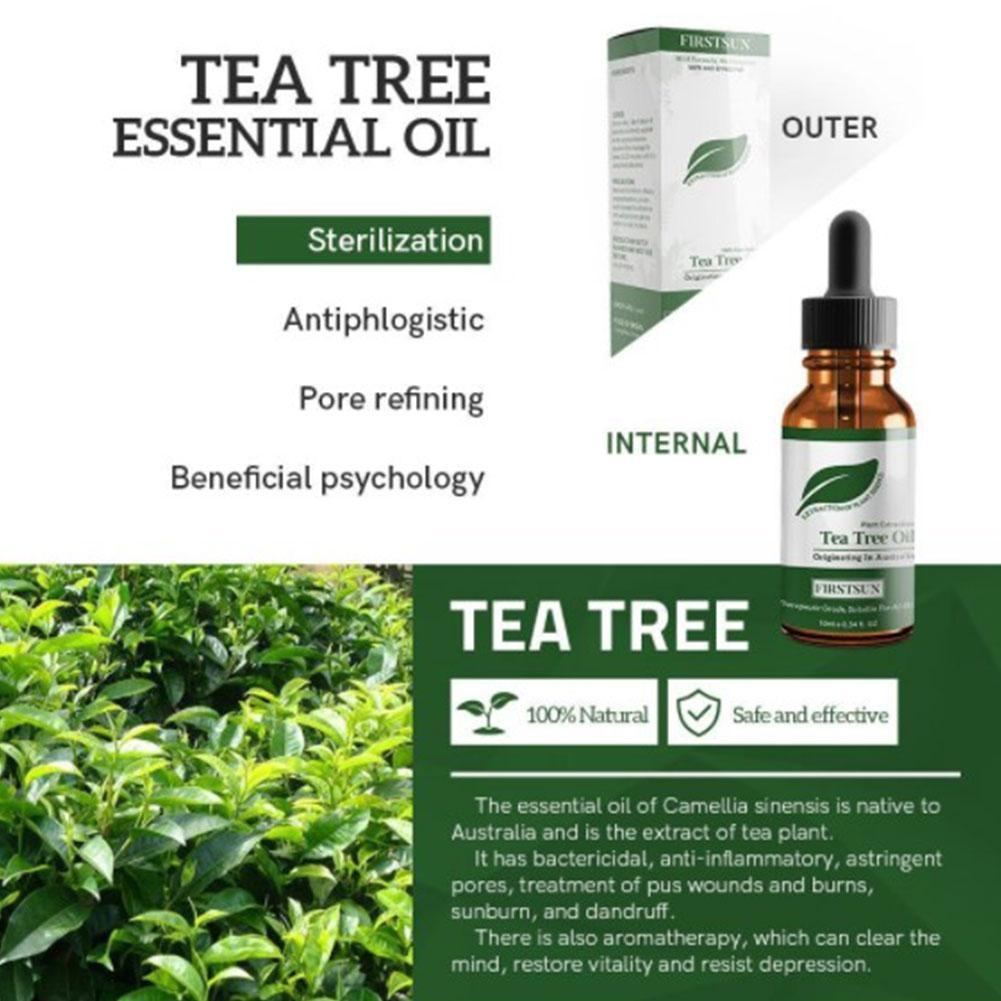 Tree Pure Essential Oil Face Care Skin Acne Treatment Blackhead Spots Massage Oil aceites Remover Anti Scar esenciales W3L4