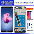 For Huawei P Smart LCD Display Touch Screen Digitizer Assembly For Huawei Enjoy 7S LCD With Frame FIG LX1 L21 L22 Screen Replace