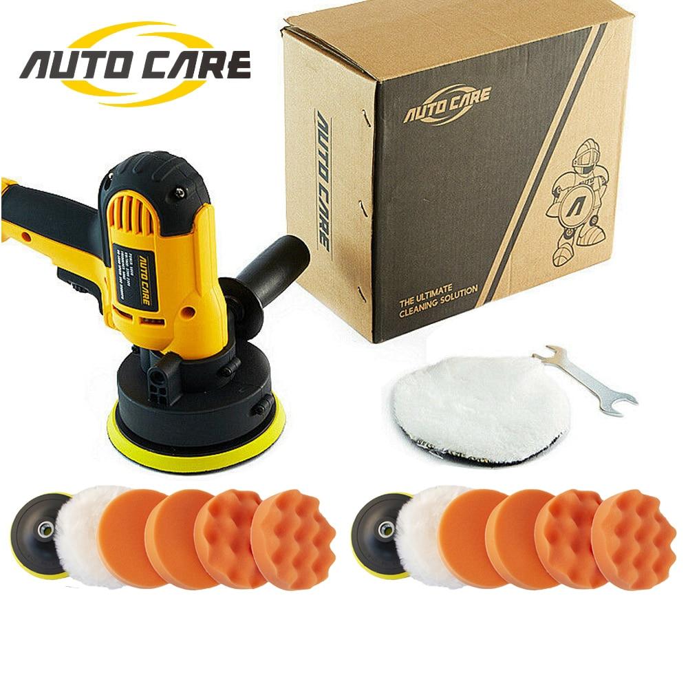 220V 110V Rotary Car Polisher Kit 600W Car Accessoriess Sanding Machine M14 Waxing Tools Polishing Machine 5Inch Buffing