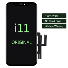 Original LCD Für iPhone 11 LCD Display Handy Screen Digitizer Für iPhone 11/Pro/ Pro Max LCD für iPhone X LCD Montage(China)
