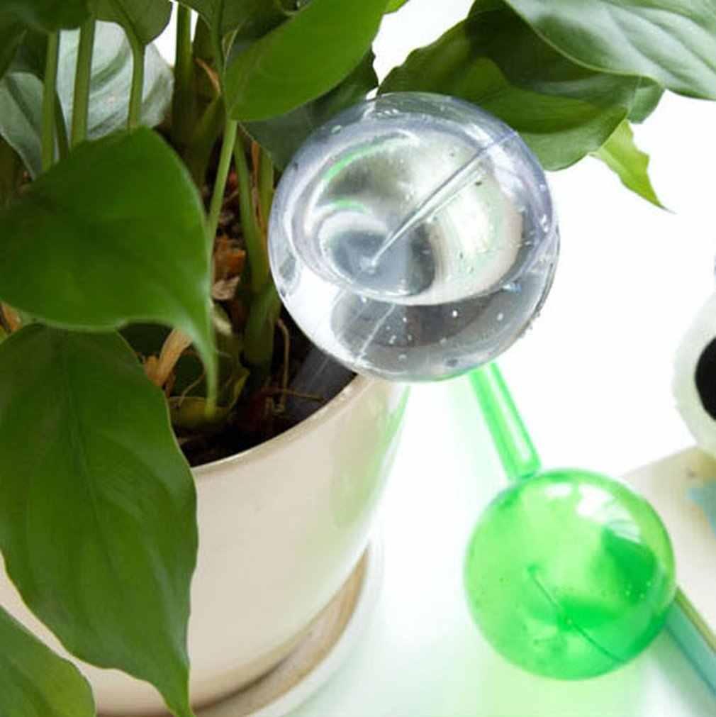 ปฏิบัติ PVC รดน้ำระบบเทียมแก้ว Plant Waterer ดอกไม้รดน้ำอุปกรณ์ประเภท Ball หยด