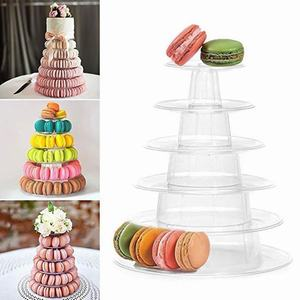 4/6 Tiers Cupcake Display Rack Holder Macaron Tower Macaroon Display Cake Stand Birthday Party Wedding Decoration Tools(China)