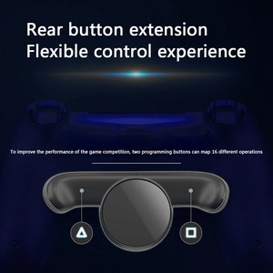 Image 5 - Gamepad Back Button Attachment with 3.5mm Audio Interface for Sony PlayStation 4 PS4 DualShock 4 Wireless Controller Accessories