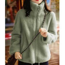 Пальто женское удлиненное теплое зимнее бархатное утепленное