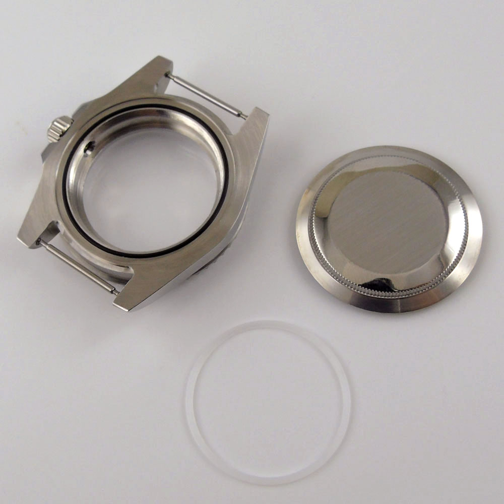 40mm relógio masculino caso peças caber nh35