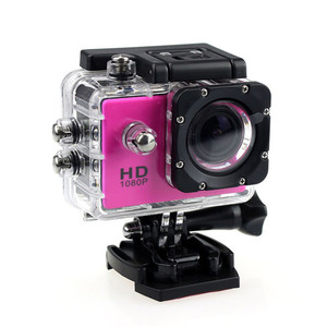 New Waterproof Camera HD 1080P Sport Action Camera DVR Cam DV Video Camcorder Waterproof Case Мини камера#T2