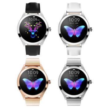 KW10 Смарт-часы Bluetooth 4,0 для женщин IP68 Водонепроницаемый фитнес-трекер спортивные Смарт-часы мульти-спорт поддержка бег ходьба Новинка