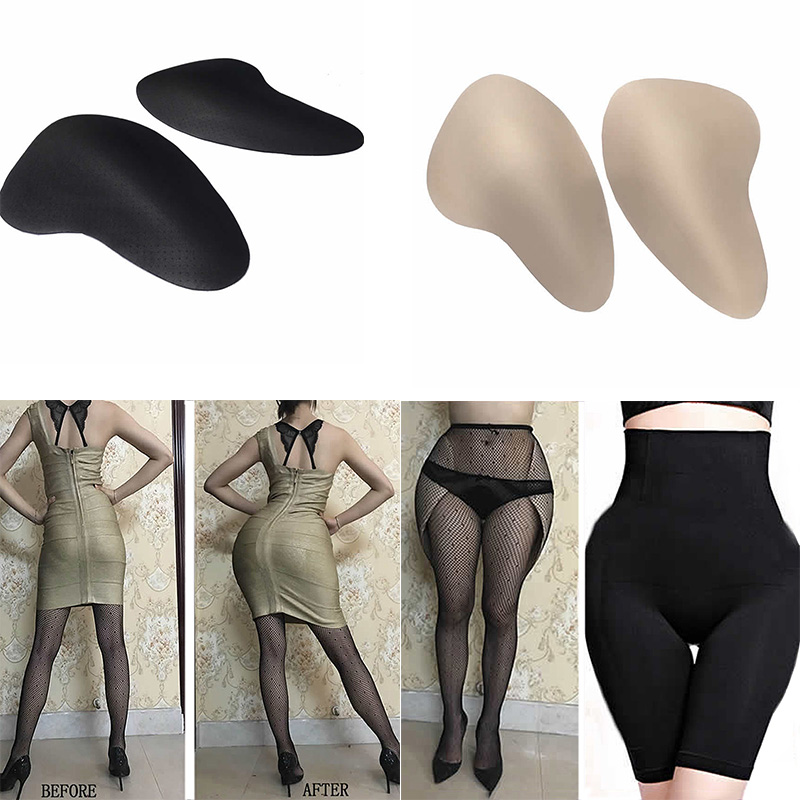 Sexy Hip Pads Reusable Breathable Sponge Hip Pad Specialty Beautify Hip Buttock Lifter  Hip Enhancer One Pair