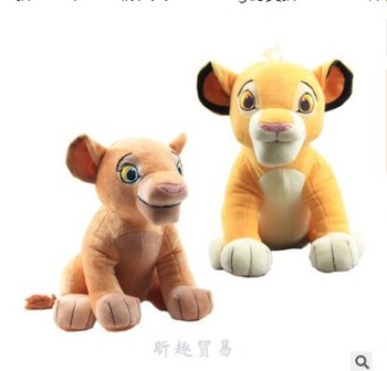 Newest Movie Dolls Lion King Simba Plush Toy Stuffed plush Animals lion doll for children birthday gift