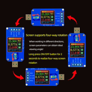 Image 5 - DC DC Boost/Buck Converter CC CV Power Module 5V TO 0.6 30V 2A Adjustable Regulated power supply Voltage Current capacity Mete