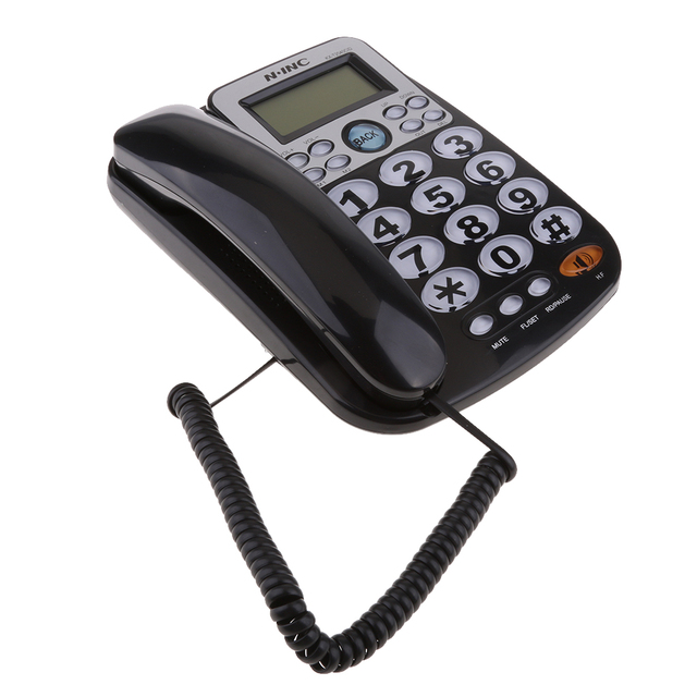 Teléfono fijo con cable Universal, escritorio de negocios para el hogar y la Oficina, 2019 nuevo, de alta calidad