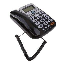Universal Telefone Fixo Com Fio Home Office Desk Telefone de Negócios 2019 Nova Alta Qualidade