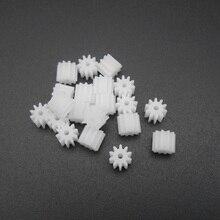 Model-Accessories Spur Gear Plastic 10-Teeth 10T DIY 5MMX6MM FD188 T--10-Aperture 20PCS