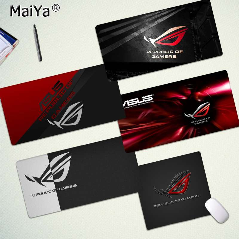 Maiya Top Quality ASUS Locking Edge Mouse Pad Game Free Shipping Large Mouse Pad Keyboards Mat
