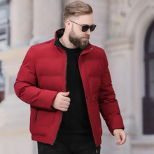 big plus size 8XL Winter Jacket Men Parker coat Thick Warm Top Quality Windproof Zipper Clothes For Men Fashion Winter Coats(China)