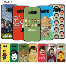 funny Parks and Recreation Soft TPU phone cover case for