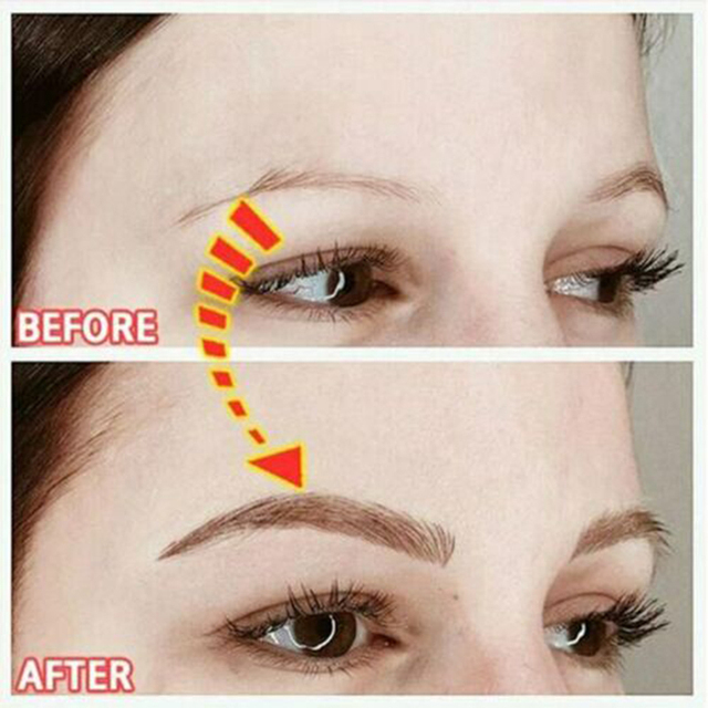 2020 Magic 4D Hair-like Authentic Eyebrows Grooming Shaping Makeup Brow Shaper Brow Stickers Tattoo False Eyebrows Cosmetics 3