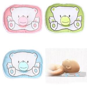 Cushion Pillow Sleep-Support Newborn Baby Prevent-Flat-Head Infant Concave Printed Cartoon