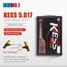 Kess ab versiyonu V2.53 Diaglostic aracı müdürü Tuning takımı 5.017 ana KTAG 7.020 4 LED Kess V5.017 kaliteli KTAG v7.020