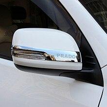 Per Toyota Land Cruiser Prado 150 2010 2011 2012 2013 2014 2015 2016 2017 2018 2019 2020 striscia di sfregamento specchietto retrovisore