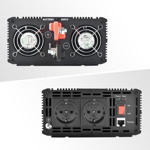 Image 2 - LCD Inverter 12V 220V 1000/2000W Voltage Transformer Pure Sine Wave Power Inverter DC12V to AC 220V Converter