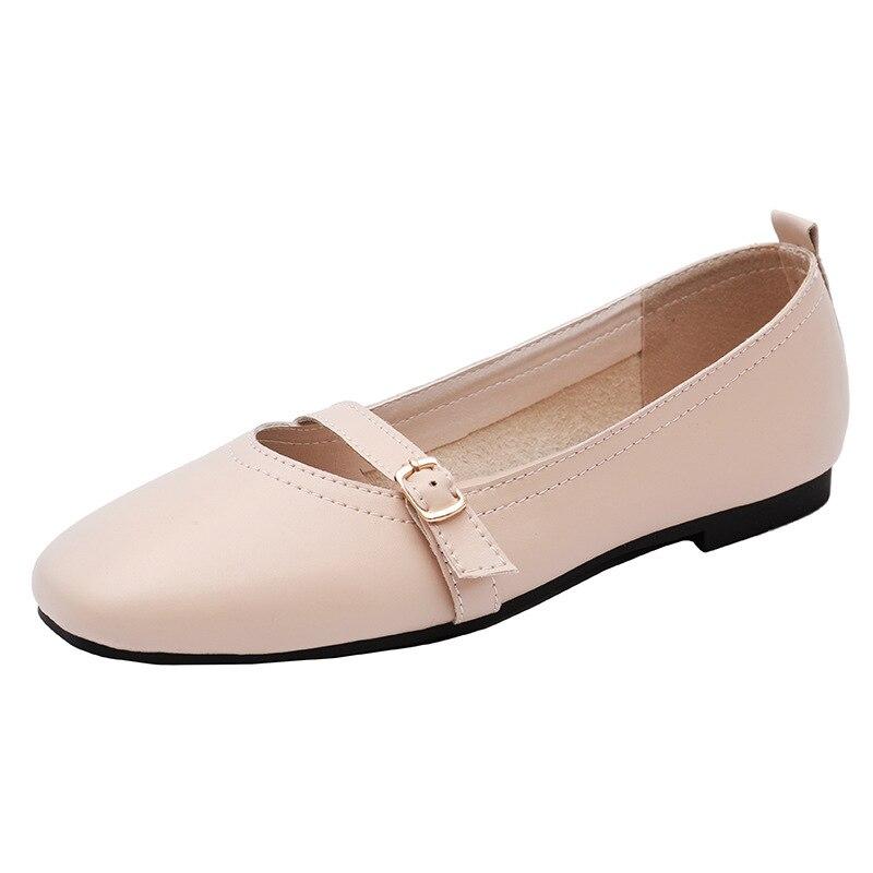 2019 été femmes chaussures plates baskets ballerines oxfords chaussures femmes sans lacet mocassins blanc découpe confort plat bateau chaussures - 5