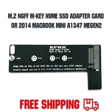 Riser-Card Adapter Pci NGFF Key-Nvme Express A1347 Mac Mini for Apply 760P 600P MEGEN2