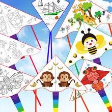 Детский креативный воздушный змей «сделай сам» Детские летающие