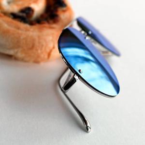 Image 5 - Veithdia marca óculos de sol sem aro moda óculos polarizados revestimento espelho óculos de sol oculos masculino para homem/mulher 3811