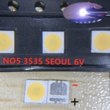 2000 шт. для Сеула 3535 светодиодный 2 Вт 6 в 3535 холодный белый ЖК подсветка высокая мощность светодиодный ная подсветка для ТВ Приложение SBWVL2S0E