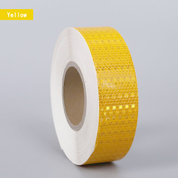 Reflective Material Sticker 5cmx5m Safety Warning Tape Reflective Film Car Motorcycles Safety Warning Tape Reflective Stickers new 8mx1cm universal motorcycle reflective stickers strips diy bike car safety warning reflective tape wheel rim decal sticker