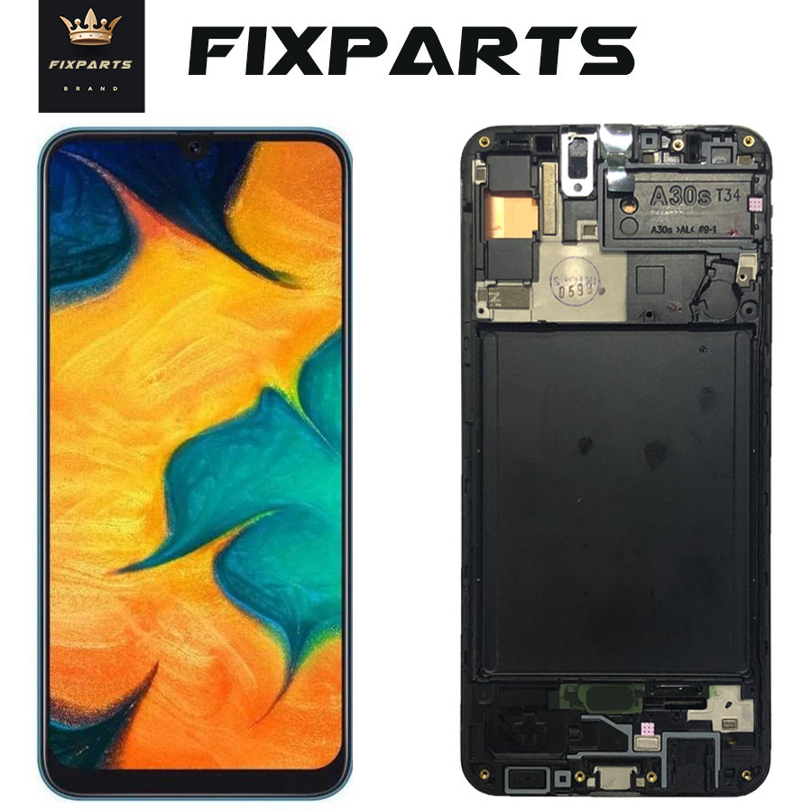 ORIGINAL SUPER AMOLED LCD for SAMSUNG Galaxy A30 A307F/DS A307 Display Touch Screen Digitizer Assembly A30s LCD For SAMSUNG A30s