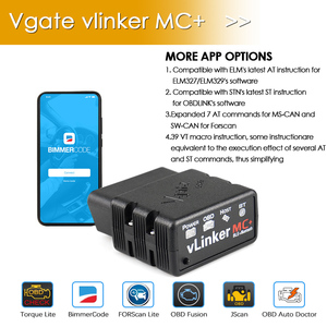 Image 3 - Vgate Vlinker Mc + Elm 327 V2.2 Bluetooth 4.0 Wifi ELM327 Voor Android/Ios Scanner Obd 2 OBD2 Auto diagnostische Auto Tool Pk