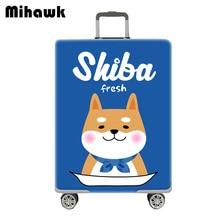 Mihawk Cartoon Cute Elastic Luggage Protector Girl Travel Ro