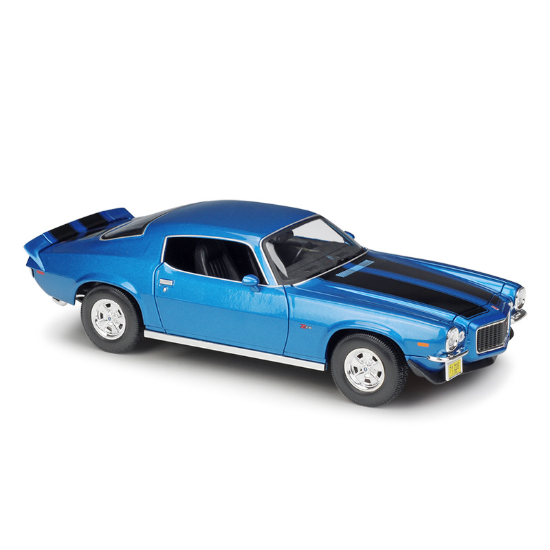 Maisto1971 Chevrolet Camaro Diecast Model Car 1:18 Metal Alloy High Simulation Cars With Base Boys Toys Gifts For Boy Men