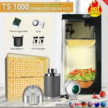 Mars Hydro TS 1000W Grow Kits LED Grow Light Combo Full Spectrum For Hydroponics&Medical Plants No Stock In Russia