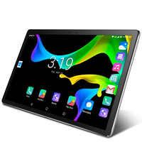 2020 Neue 10,1 inch 3G Anruf Tablet Pc Android 7,0 CE Marke GPS Google Play WiFi 2,5 D Gehärtetem glas 10 zoll Handy Tabletten