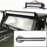 1/10 Crawler Accessory Luminous Roof LED Lamp Bar Flashing Car Lamp For For Traxxas TRX-4 SCX10 90046 Crawlers RC Car Parts
